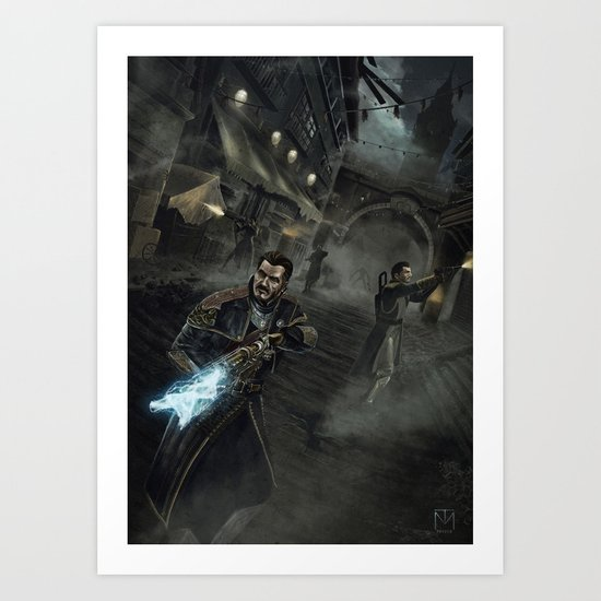 Into the Night (The Order 1886) Art Print