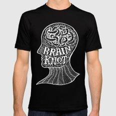 Brainknot Black MEDIUM Mens Fitted Tee