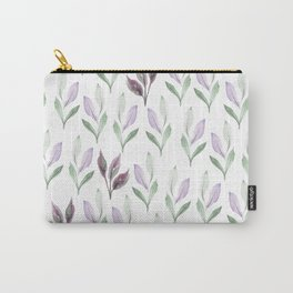 Violet Pastel Pattern Carry-All Pouch