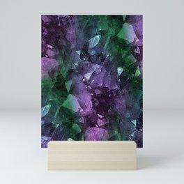 Crystal Geode Mini Art Print