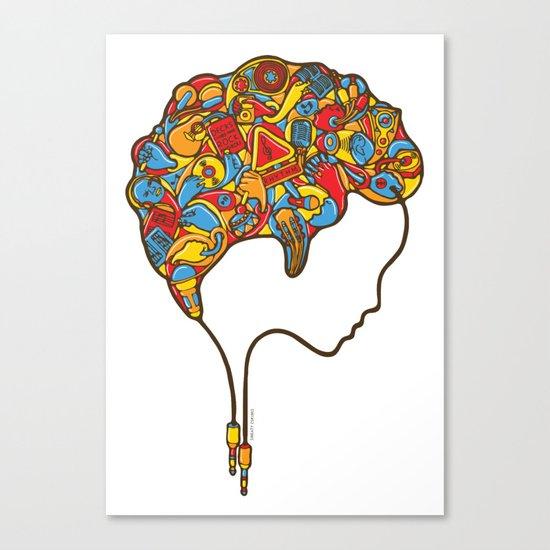 Musical Mind Canvas Print