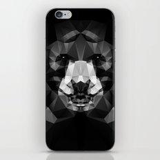 Bear - Black Geo Animal Series iPhone & iPod Skin