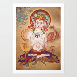 Budha Art Print