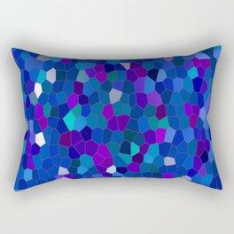 Geometrically mosaically speaking... Rectangular Pillow