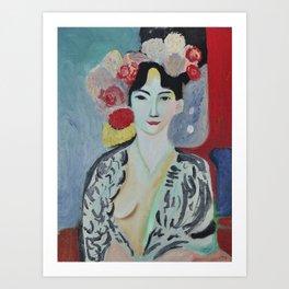 Tribute to Matisse Art Print