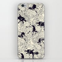 threadless iPhone & iPod Skins featuring Hide and Seek by nicebleed