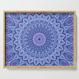 Purple Passion - Mandala Art Serving Tray