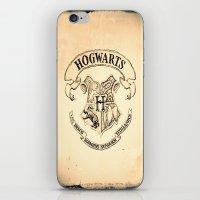 "hogwarts iPhone & iPod Skins featuring HOGWARTS by ""CVogiatzi."