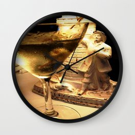 Martini Time Wall Clock
