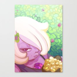 Chilling with Amethyst Canvas Print