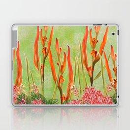 Tropical Floral Malaysian Border Print Laptop & iPad Skin