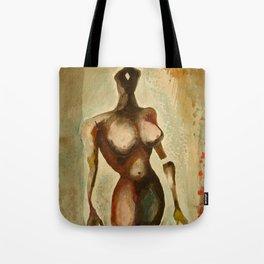 Eves 1, Nude surrealist female figure, NYC Artist Tote Bag