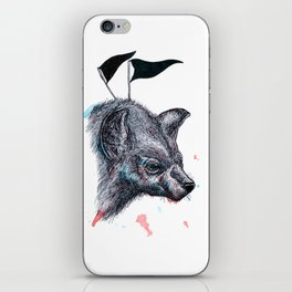 Wolf?Hyena? iPhone Skin