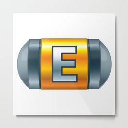 Energy Tank Metal Print