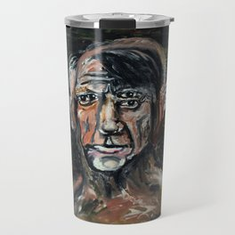 Perverted Little Man (Pablo Picasso, oil on canvas) Travel Mug
