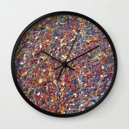 radical particles Wall Clock