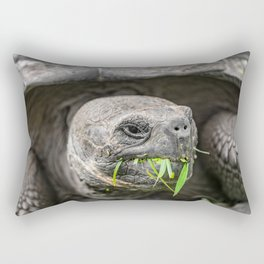 Do I have something in my teeth? Rectangular Pillow
