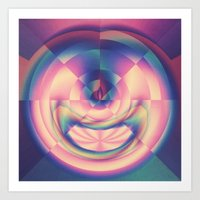 apple Art Prints featuring Apple by Truly Juel