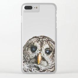 Hoo Clear iPhone Case