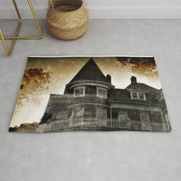Haunted Hauntings Series - House Number 4 Rug