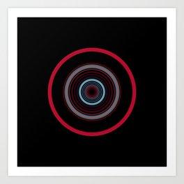 orbital 8 Art Print