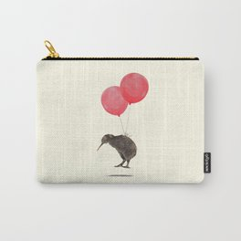 Kiwi Bird Can Fly Carry-All Pouch