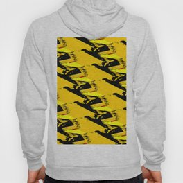 URBAN STREET CAMO YELLOW AND BLACK OLIVE GREEN DESIGN Hoody