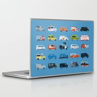 grease Laptop & iPad Skins featuring It Would Have Been Cooler as a Van by Brandon Ortwein