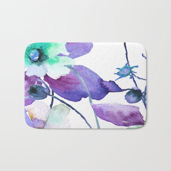 Flowers 01 Bath Mat