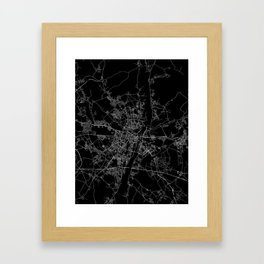 Poznan Framed Art Print