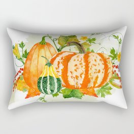 Pumpkin Bouquet Rectangular Pillow