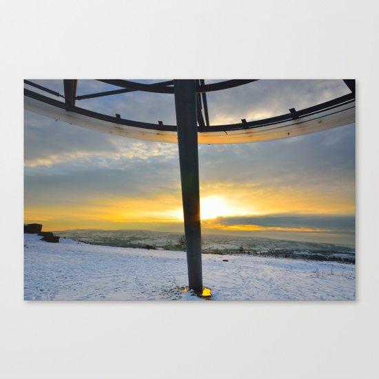 The Halo Panopticon Canvas Print