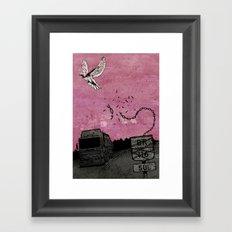 Ascend (Meninadanca Charity Print) Framed Art Print