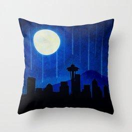 Sleepless Seattle Throw Pillow