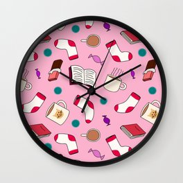Girls' Night In Wall Clock