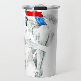 Nudegrafia - 007   Invisible and imaginary Travel Mug