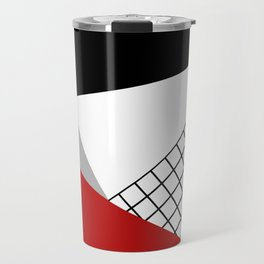 Colorful geometry 3 Travel Mug