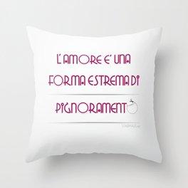"""Pignoramento"" Throw Pillow"