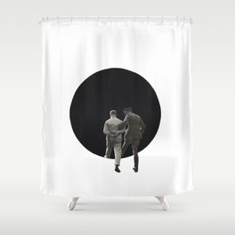 March to the Abyss Shower Curtain