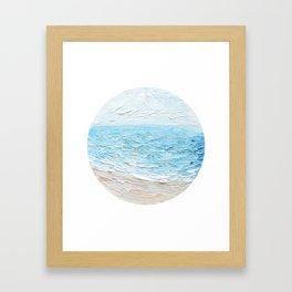 Carolina Blues Framed Art Print