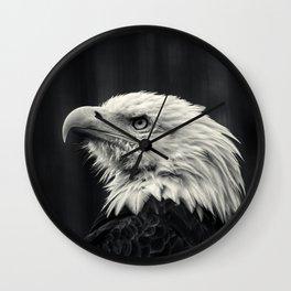 Eagle pride Wall Clock