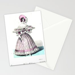 Viennese Fashion 1836 Stationery Cards