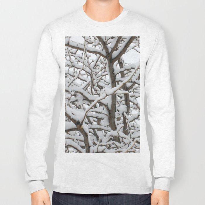 Snowy Tree Long Sleeve T-shirt