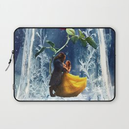 Beauty and the Beast-Rose Laptop Sleeve