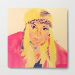 Hilary - #facesilove Metal Print