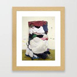 Washmachine Framed Art Print