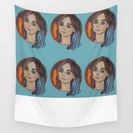 Impossible Girrl Wall Tapestry