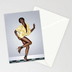 Black Sugar Silk Stationery Cards