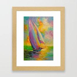 A fresh breeze Framed Art Print
