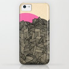 - obscure the pink shade of the sun - iPhone 5c Slim Case